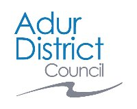 (New Logo) Links to the Adur District Council web page