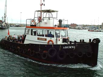 Pilot Boat  (Photograph by Ray Hamblett)