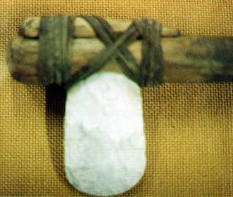 Flint Axe head (from the Marlipins Museum)