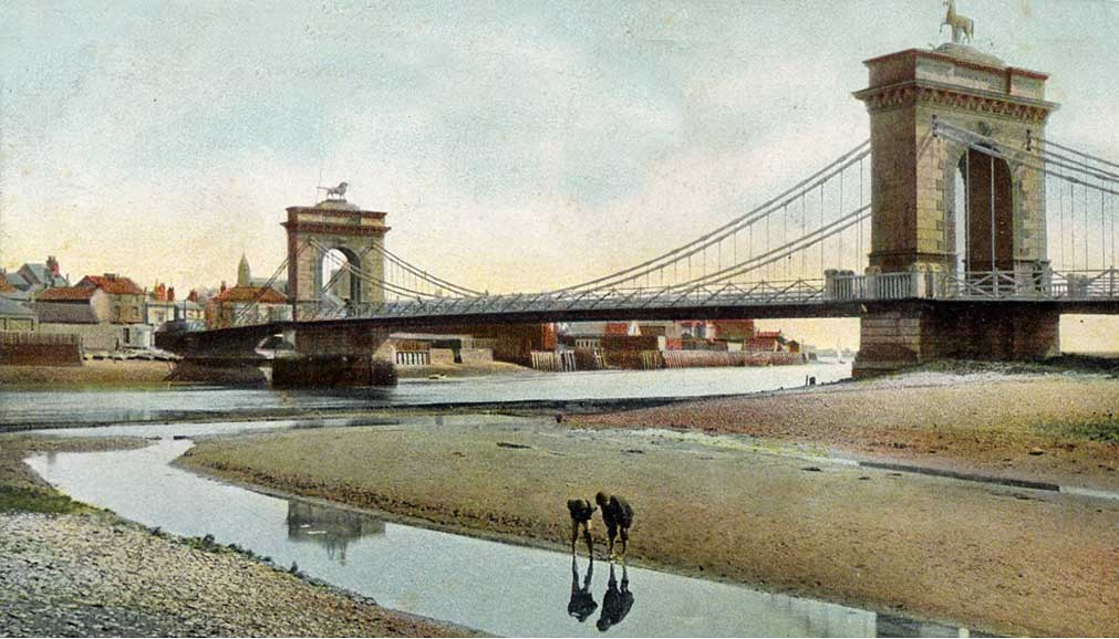 Norfolk Bridge 1833 - 1922