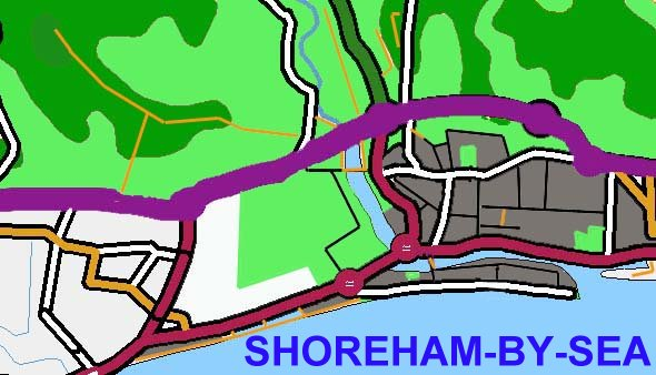 Shoreham-by-Sea and its Environs